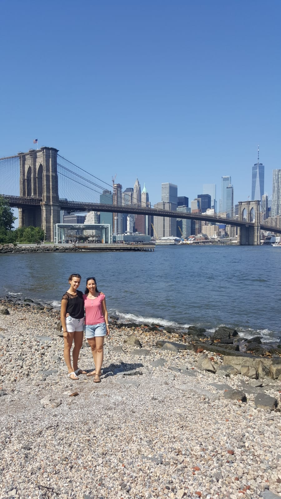 Irene e Giulia a Brooklyn