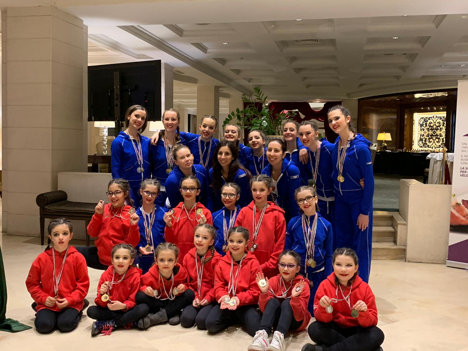 Atlete Arabesque 2019